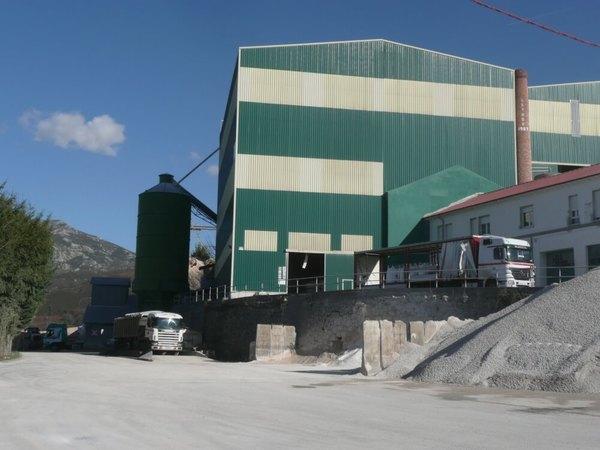 fábrica de carbonato cálcico
