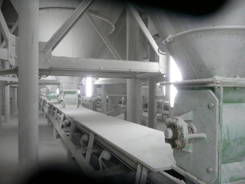 cinta de producción de clalizas